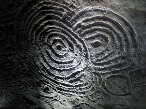Neolithic Engraving from Carrowkeel, Co Sligo