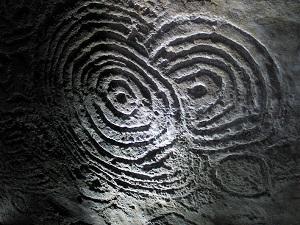 Neolithic Engraving from Carrowkeel, Co Sligo